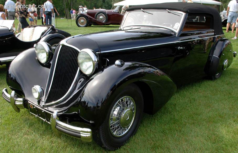 1936 Mercedes Benz 540k At The Meadow Brook Concours D