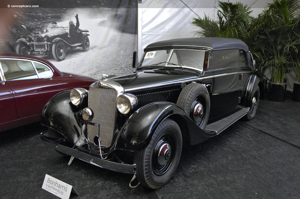 1937 mercedes benz type 320 conceptcarz for 320 mercedes benz