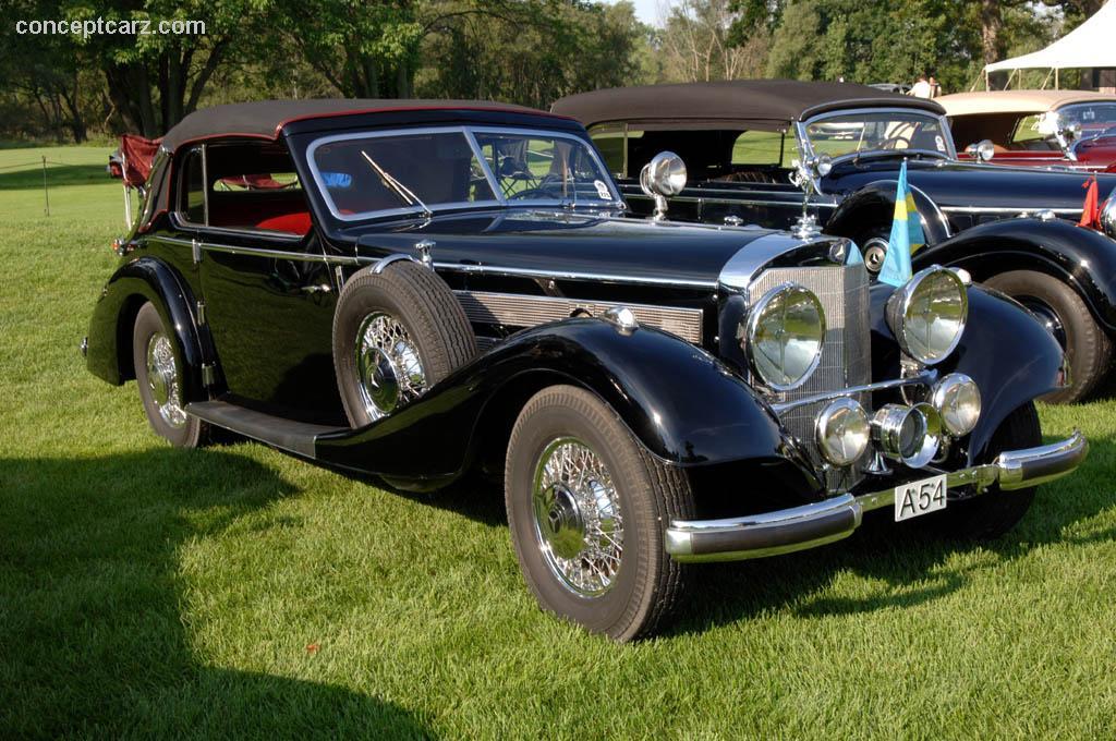 1938 mercedes benz 540k kompressor conceptcarz