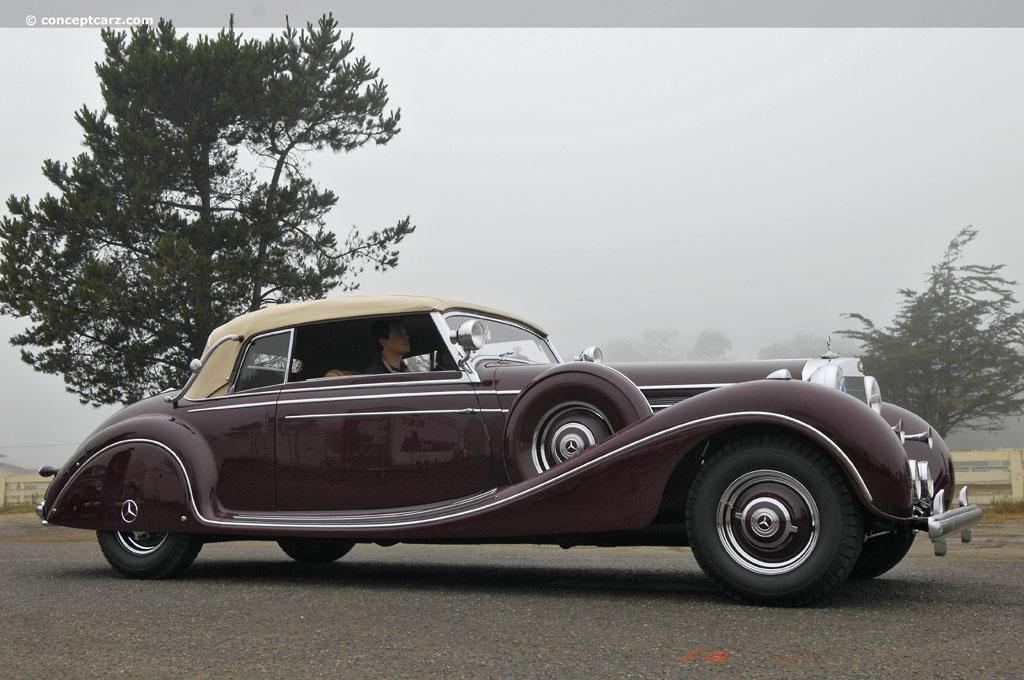 1939 Mercedes Benz 770 K Cabriolet B Conceptcarz Com