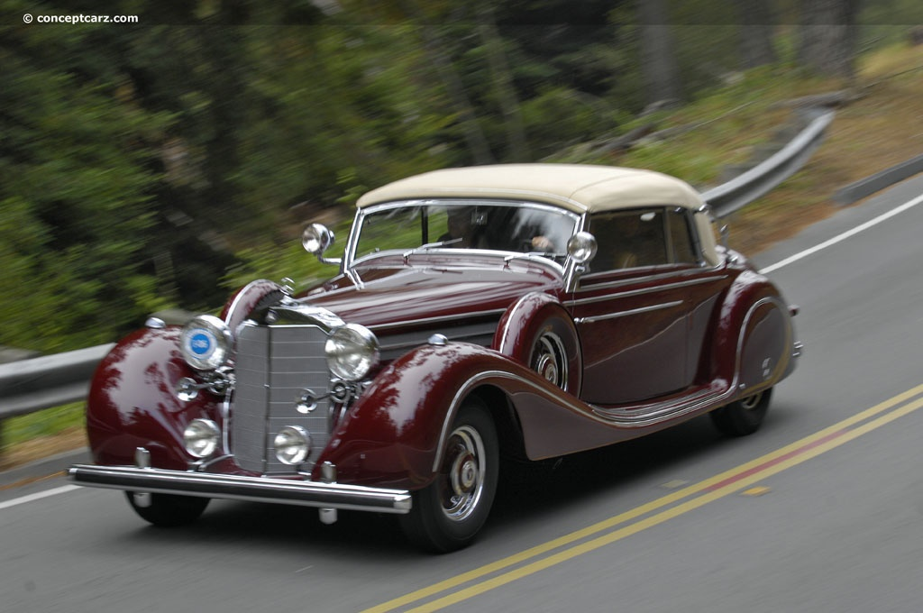 1939 mercedes benz 770 k cabriolet b pictures history for Mercedes benz 770 for sale
