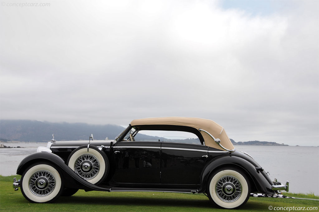 Auction results and data for 1939 mercedes benz type 320 for Types of mercedes benz cars
