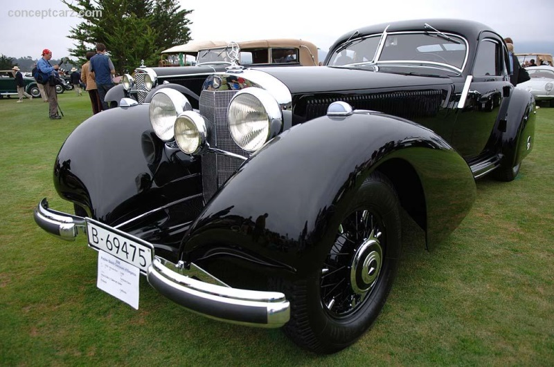 1939 mercedes benz 540k at the pebble beach concours d for Mercedes benz autobahn