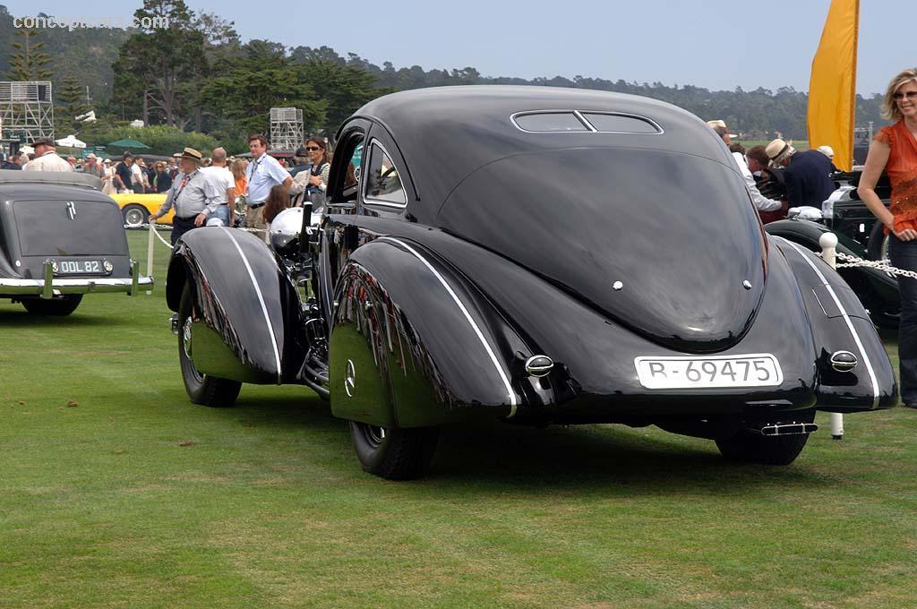 1939 mercedes benz 540k for Mercedes benz autobahn