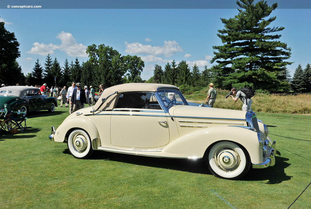1952 mercedes benz 220 at the concours d 39 elegance of for 1952 mercedes benz