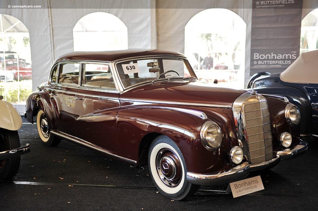 1952 Mercedes Benz 300 Adenauer Mercedes W186 Cabriolet