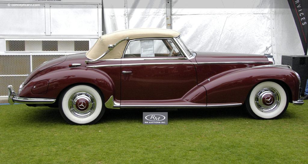 1952 mercedes benz 300 adenauer mercedes w186 cabriolet for Mercedes benz 300s