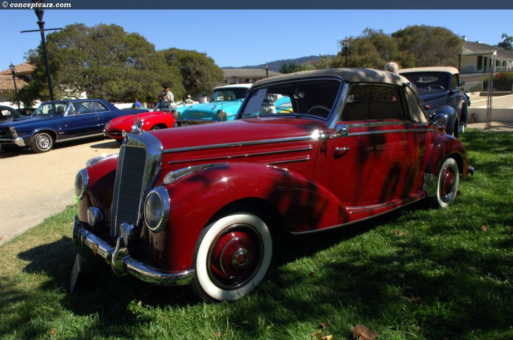 1952 mercedes benz 220 at the monterey sports and classic for 1952 mercedes benz