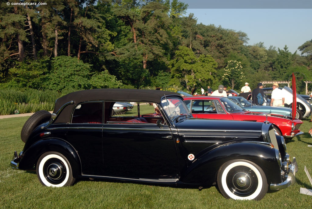 Auction results and data for 1952 mercedes benz 220 for 1952 mercedes benz