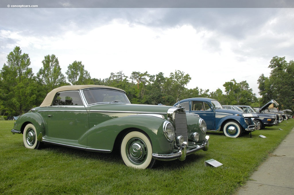 1953 mercedes benz 300s at the 32nd annual ault park for 1953 mercedes benz