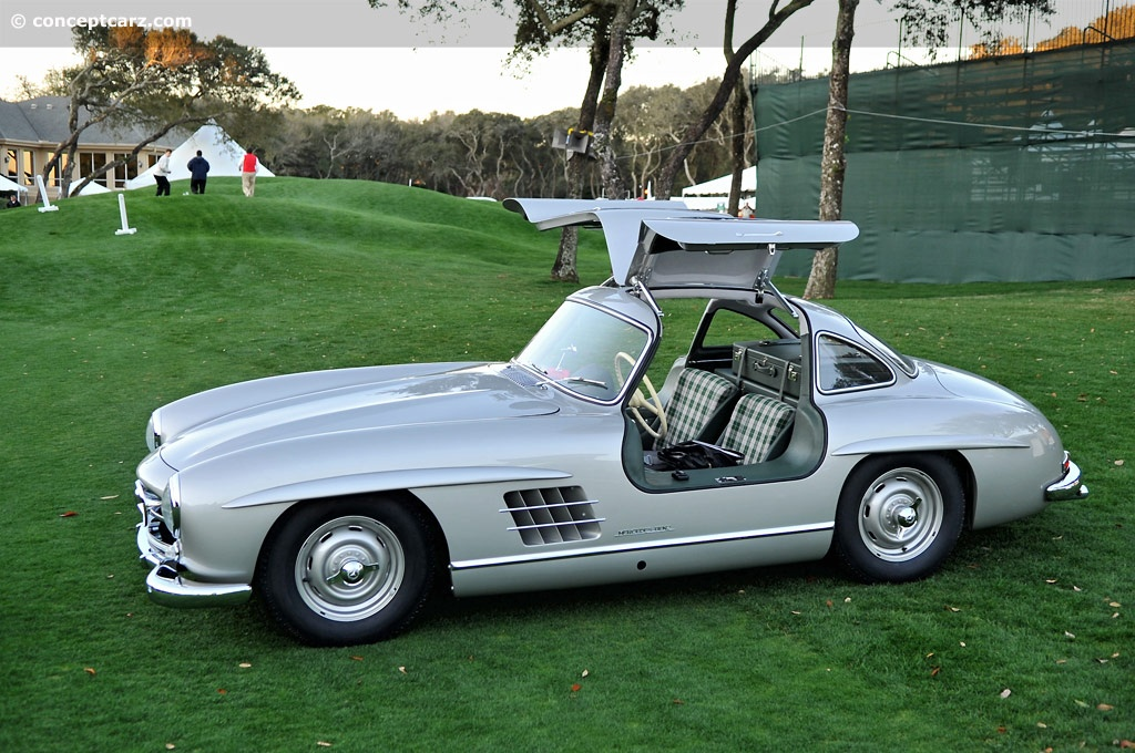 Auction Results And Data For 1955 Mercedes Benz 300 Sl