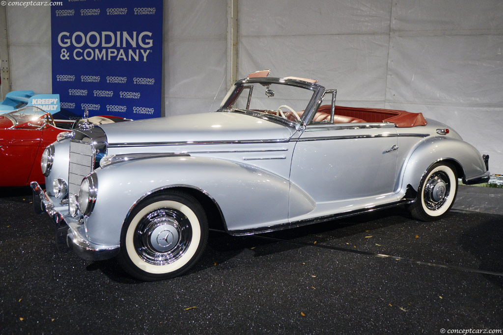 Auction results and data for 1955 mercedes benz 300sc for Mercedes benz of columbia sc