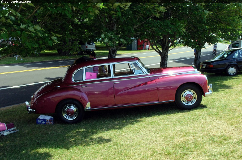 Auction results and data for 1955 mercedes benz 300 c for Mercedes benz 300c