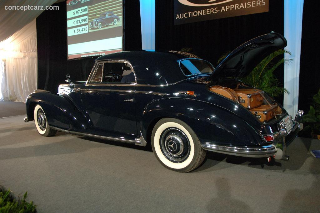 Auction results and data for 1955 mercedes benz 300 sb for Sb mercedes benz