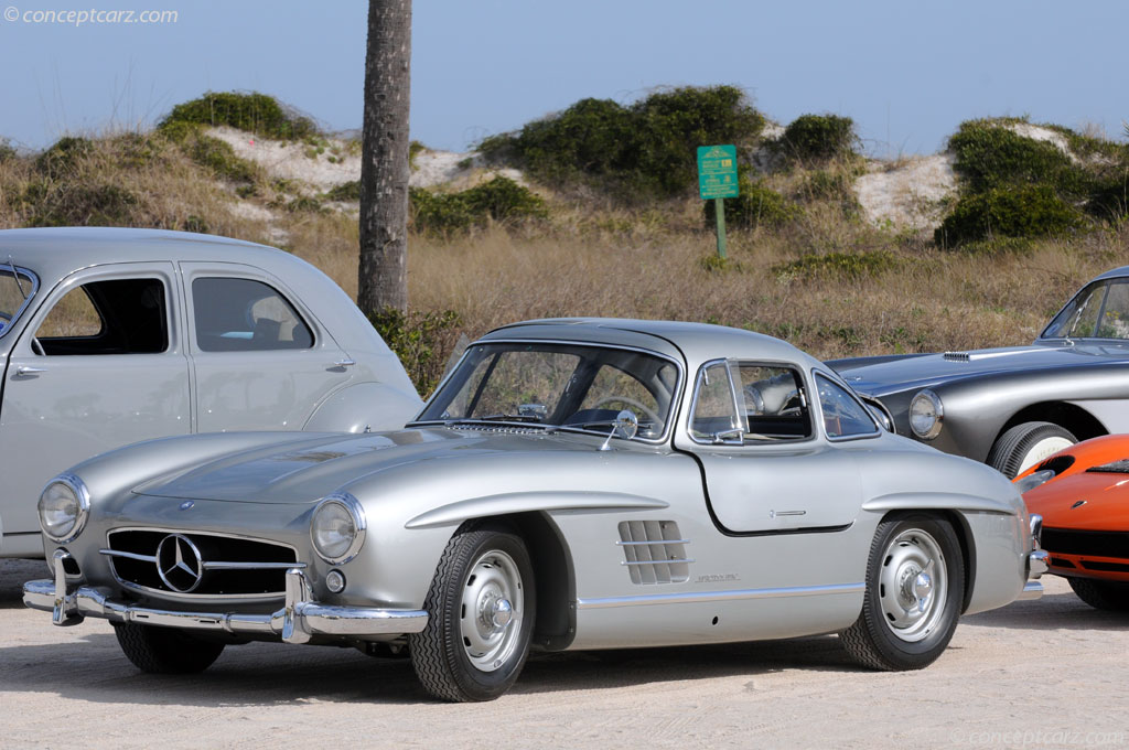 1956 mercedes benz 300 sl at the amelia island concours d for 1956 mercedes benz