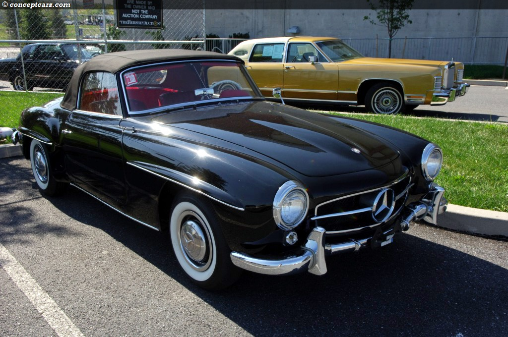 1956 mercedes benz 190 sl at the kruse international at for 1956 mercedes benz 190sl