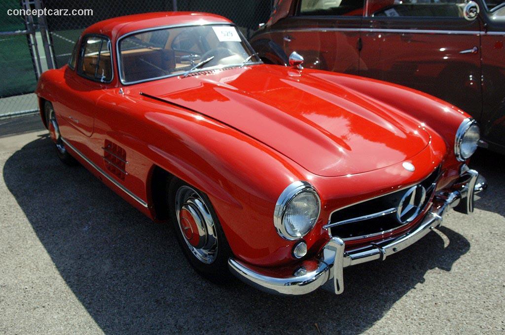 1956 Mercedes Benz 300 Sl Gullwing 300sl Super Leicht