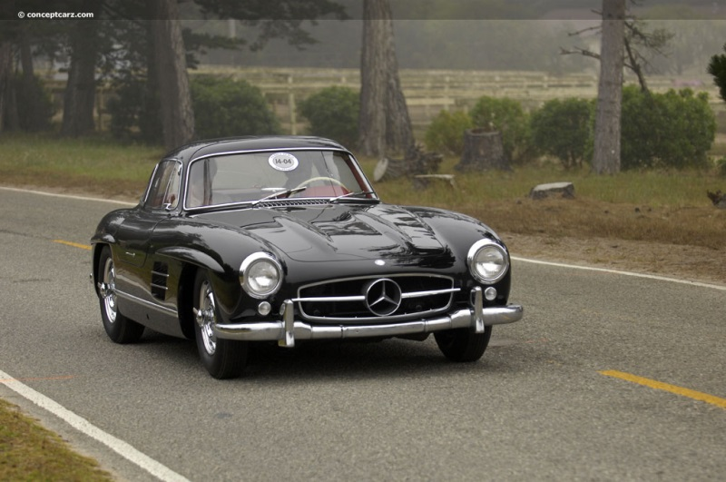 1957 mercedes benz 300sl at the 61st pebble beach concours for 1957 mercedes benz 300sl