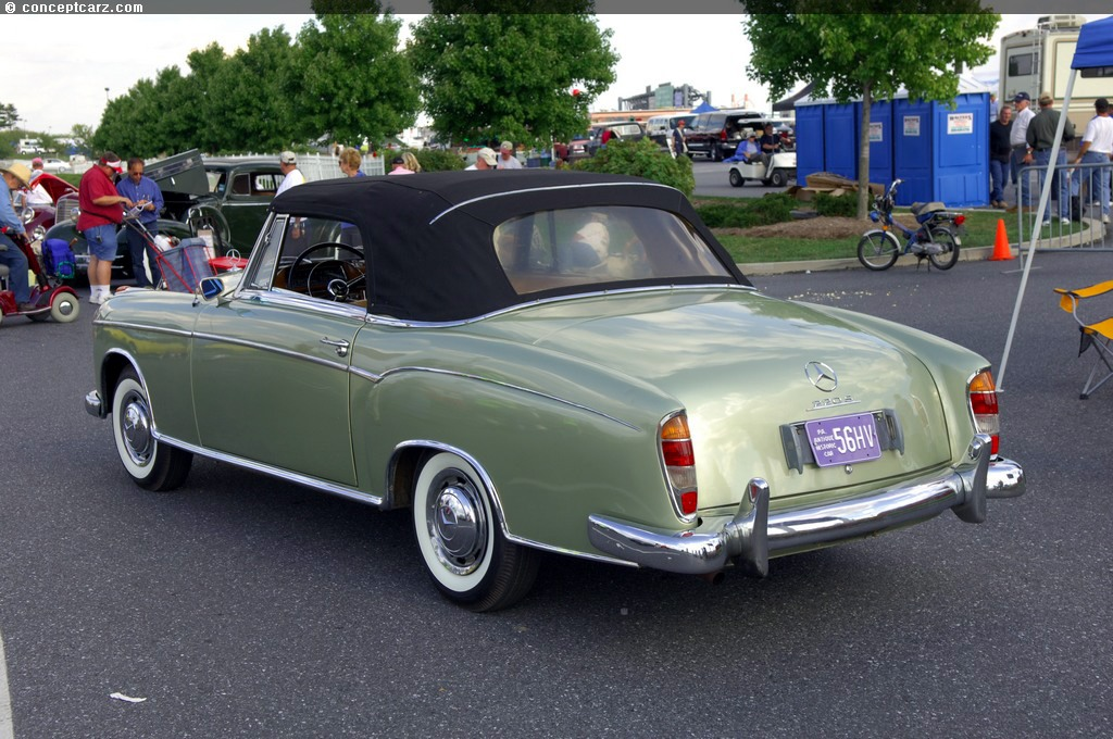 1957 mercedes benz 220s image for 1957 mercedes benz