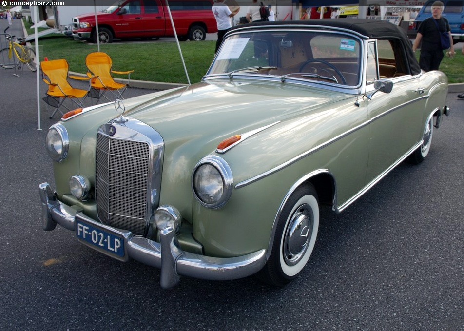 1957 mercedes benz 220s at the eastern division aaca for 1957 mercedes benz 220s