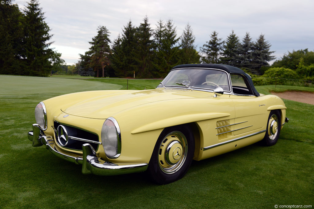 auction results and data for 1957 mercedes-benz 300sl