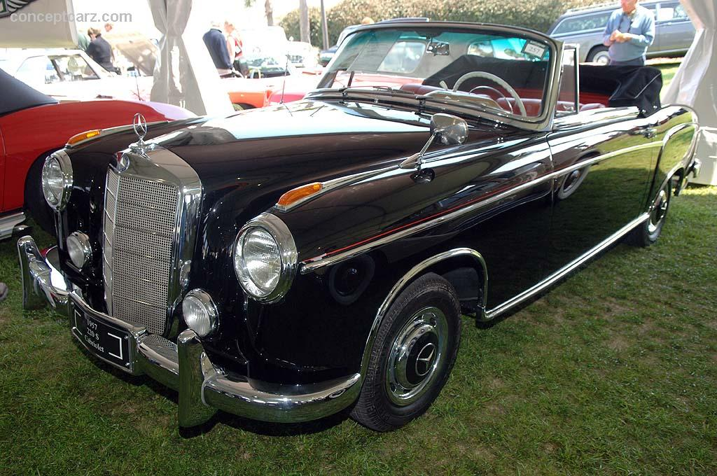 1957 mercedes benz 220s at the vintage motor cars at for 1957 mercedes benz 220s