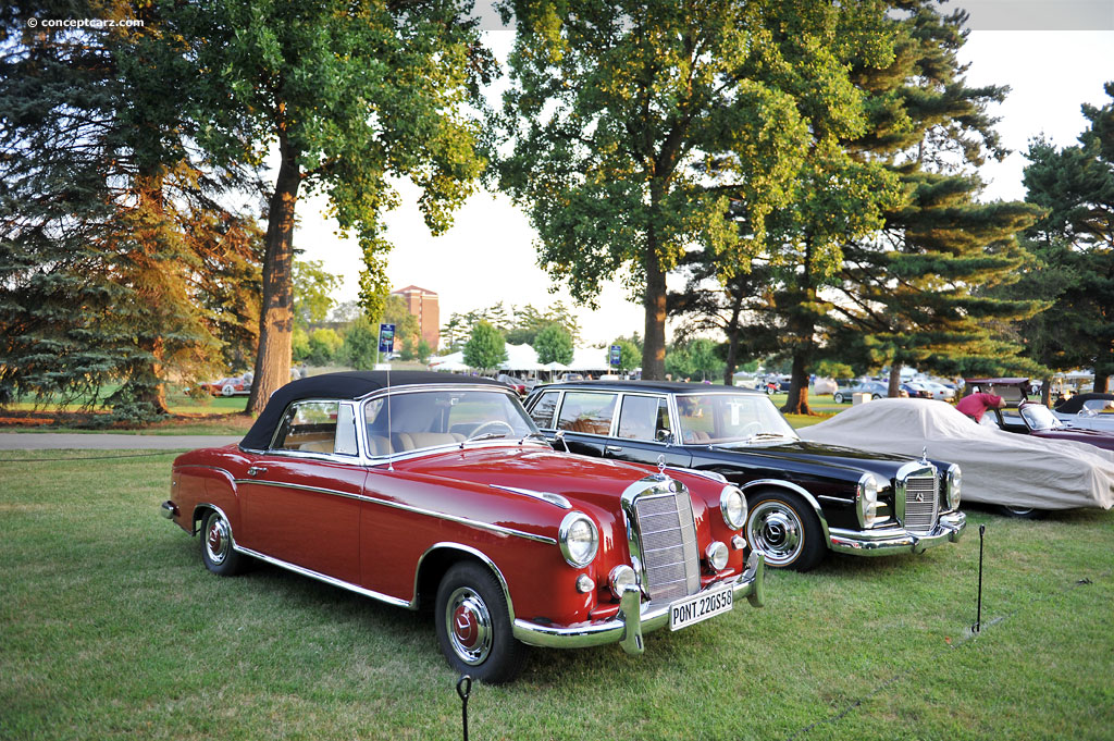 1958 mercedes benz 220s 220 s conceptcarz for 1958 mercedes benz 220s for sale