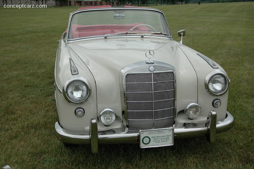 1958 mercedes benz 220s at the concours d 39 elegance of the for 1958 mercedes benz 220s for sale