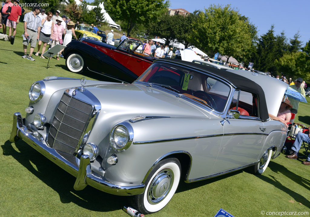 1959 mercedes benz 220s at the 37th annual concours d for 1959 mercedes benz 220s
