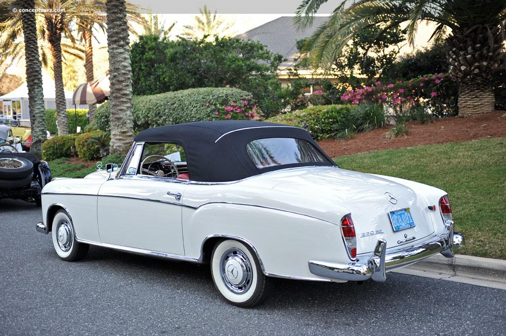 1959 mercedes benz 220se