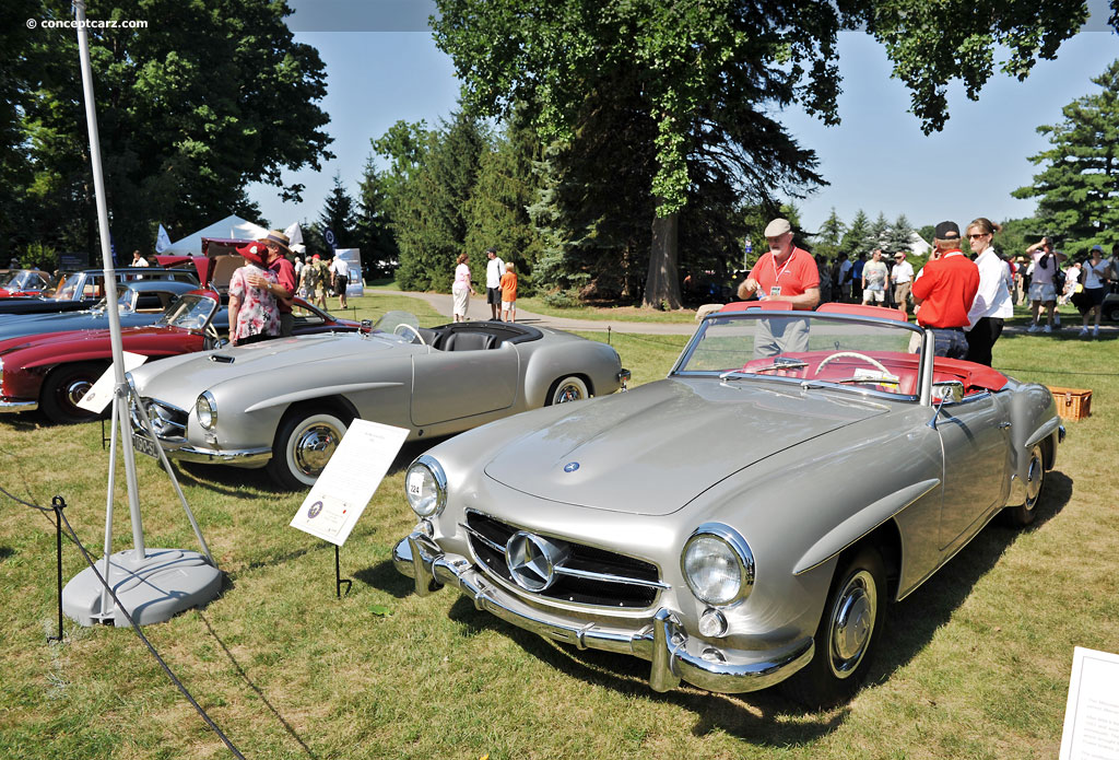 Auction results and data for 1960 mercedes benz 190 sl for Mercedes benz vehicles