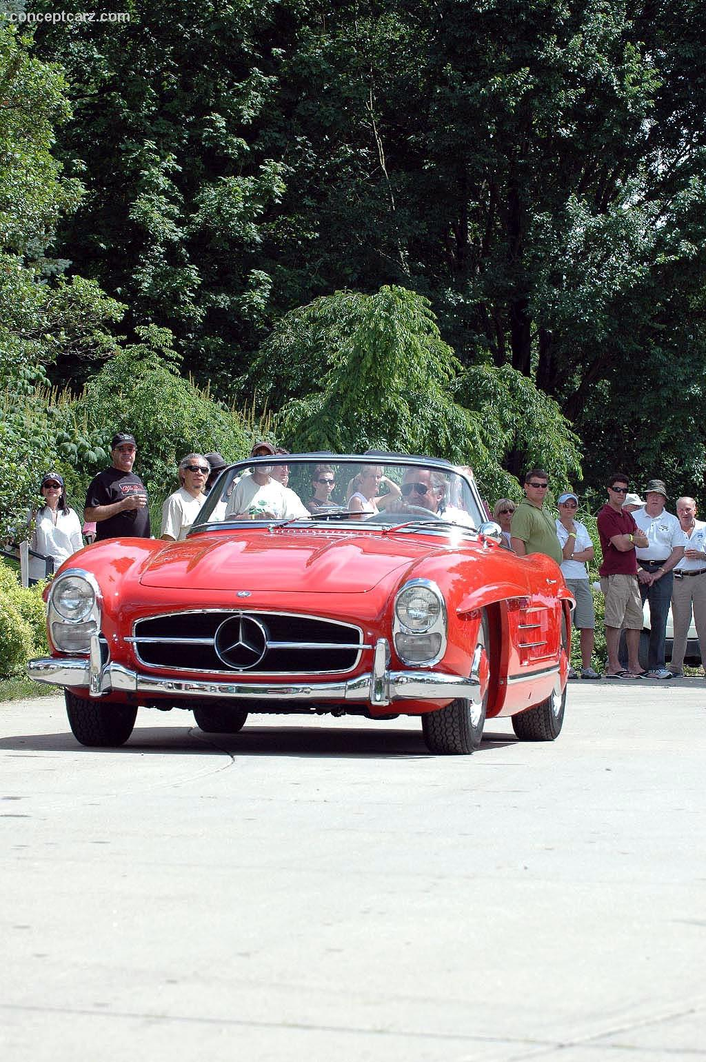 1960 mercedes benz 300 sl at the ault park concours d 39 elegance for 1960 mercedes benz