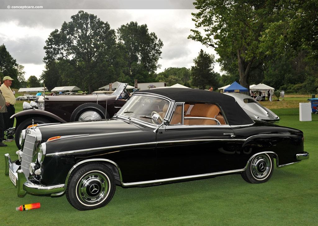 1960 Mercedes Benz 220 Series 220 Se 220sb Seb 220se