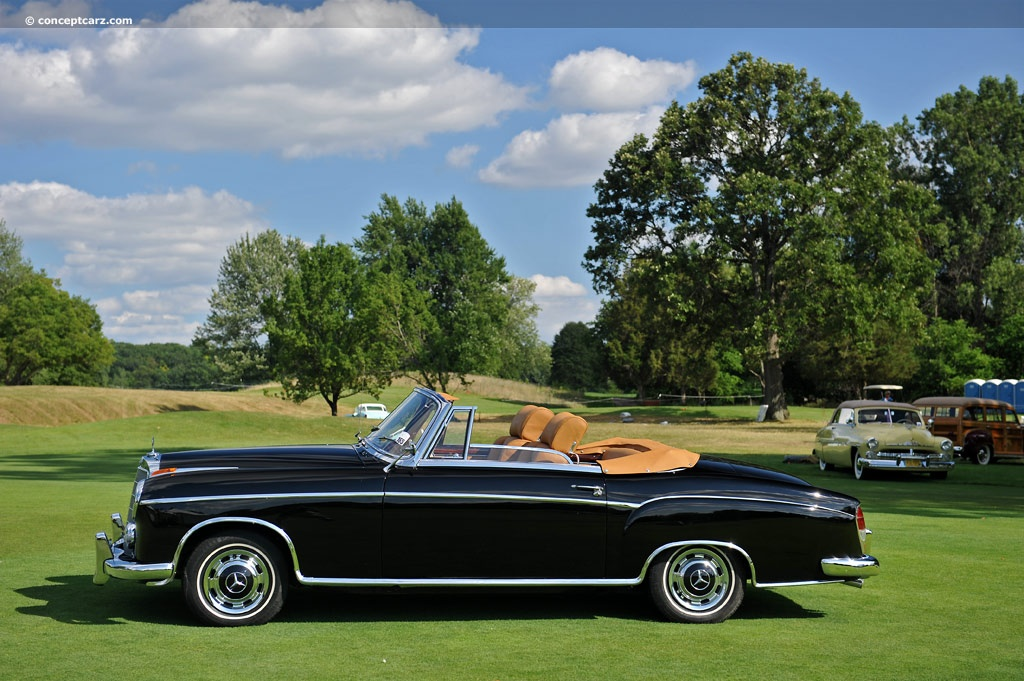 1960 mercedes benz 220 series. Black Bedroom Furniture Sets. Home Design Ideas