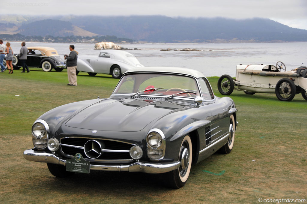 1962 mercedes benz 300 sl at the pebble beach concours d for 1962 mercedes benz