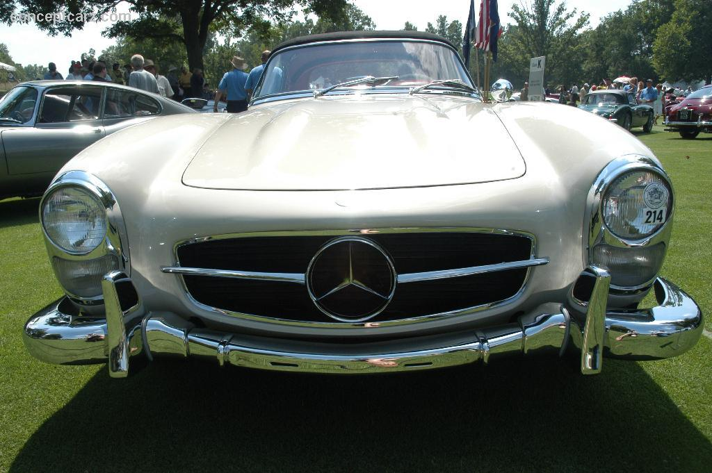 1962 mercedes benz 300 sl at the meadow brook concours d for 1962 mercedes benz
