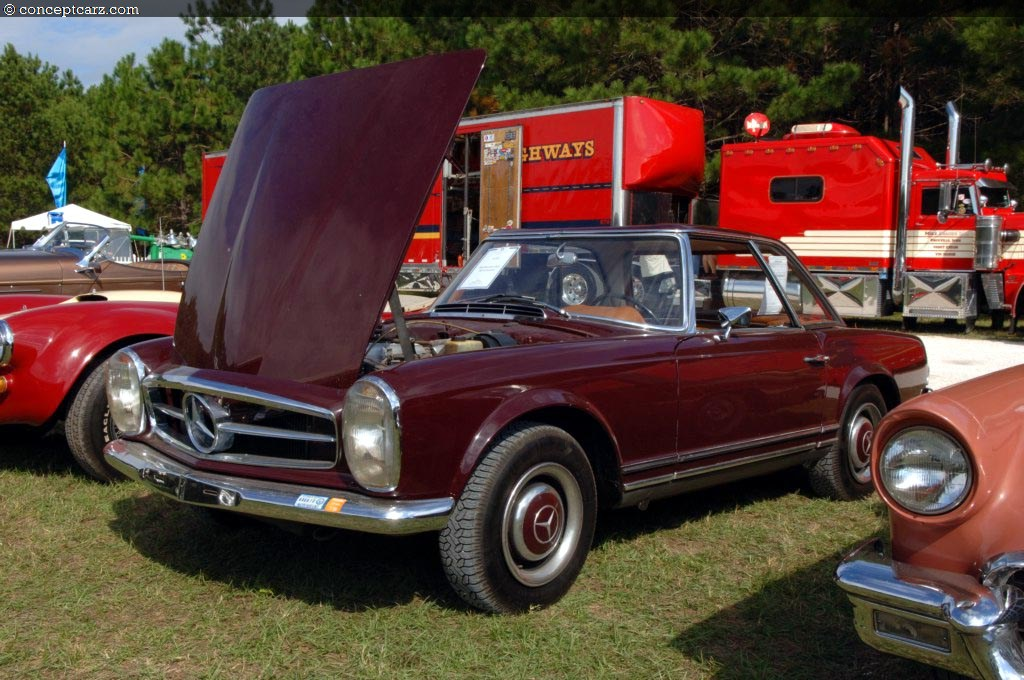 1964 mercedes benz 230sl technical specifications and data for Mercedes benz 230sl