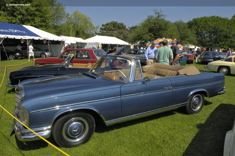 1966 mercedes benz 300se at the greenwich concours d for Mercedes benz greenwich