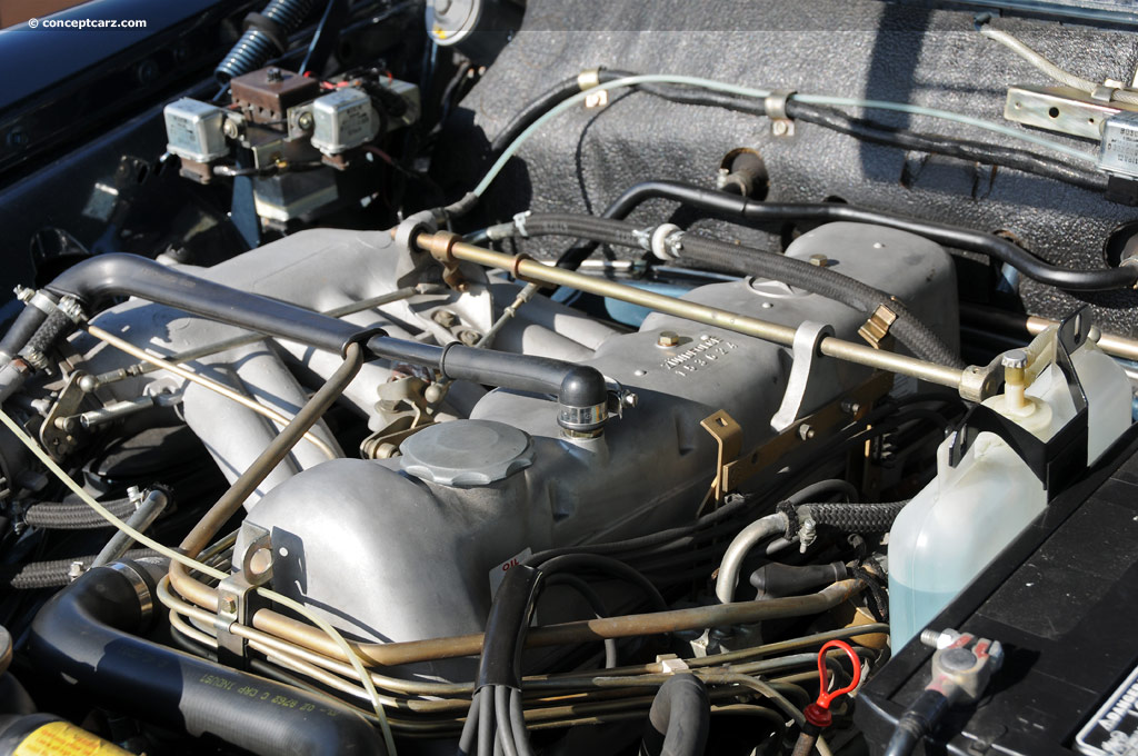 1967 mercedes benz 280se factory prototype for Mercedes benz engines specifications