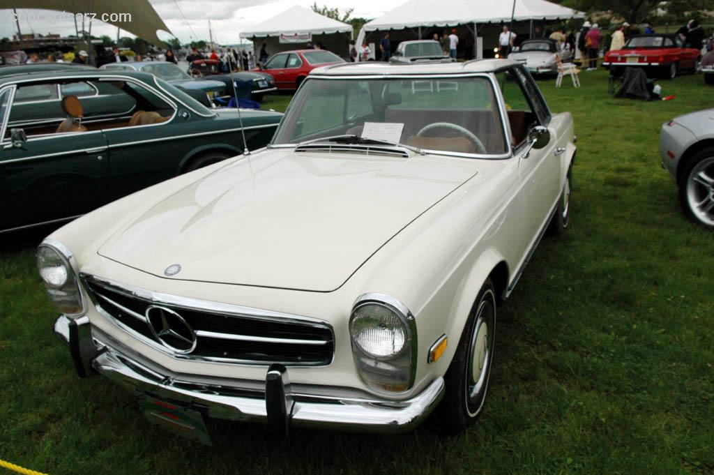 1967 mercedes benz 250 sl at the greenwich concours d for Mercedes benz greenwich
