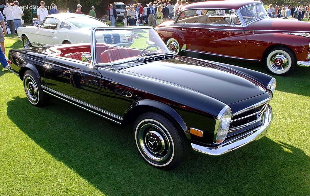1967 mercedes benz 250 sl 250sl pagoda w113 conceptcarz for Mercedes benz 250sl
