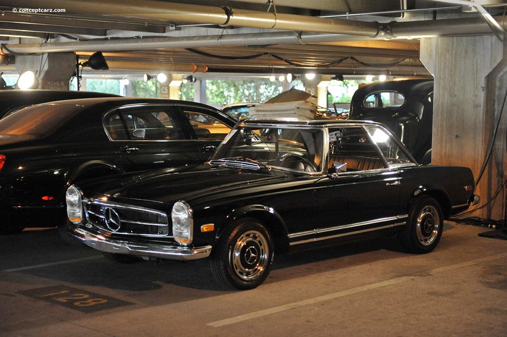 1968 mercedes benz 280 sl w113 pagoda conceptcarz for Mercedes benz 280sl