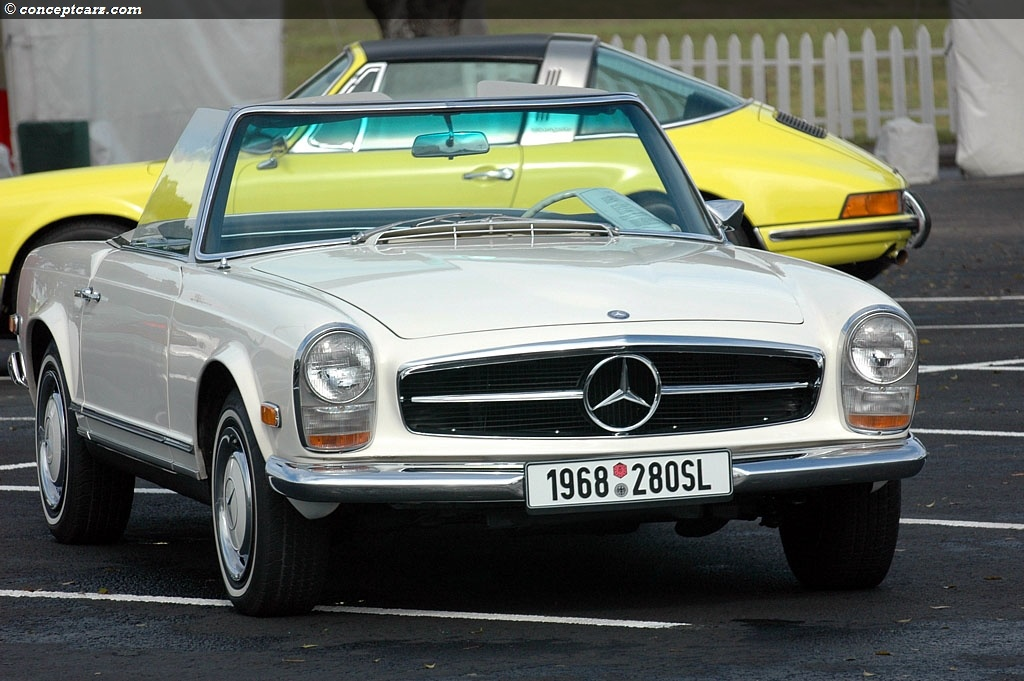 1968 mercedes benz 280 sl