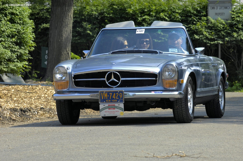 1969 mercedes benz 280 sl for Mercedes benz 280sl pagoda
