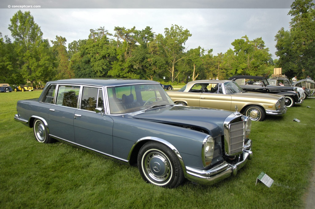 1969 mercedes benz 600 pictures history value research for Mercedes benz limo