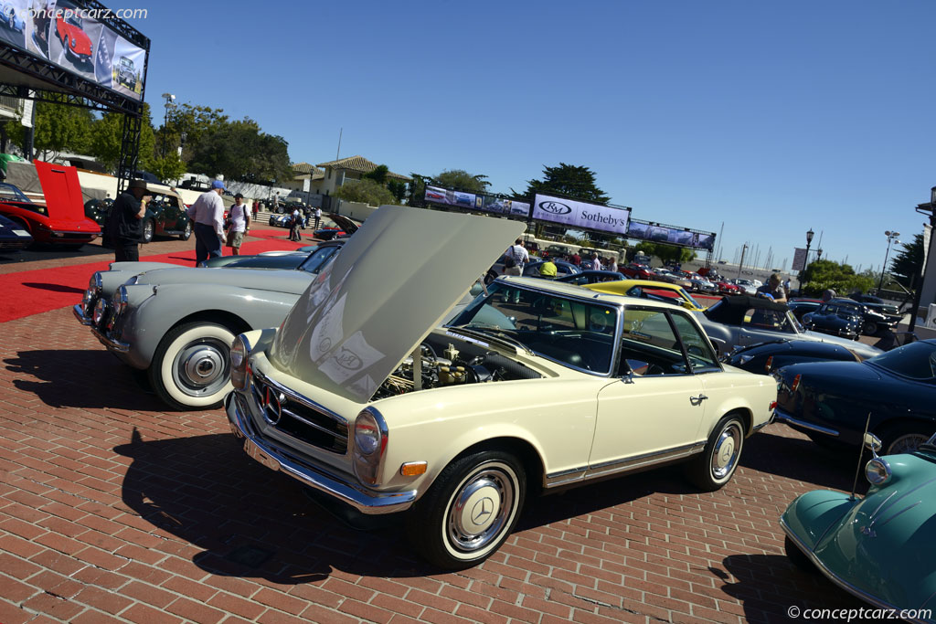 1969 mercedes benz 280 sl pagoda roof w113 280sl for Mercedes benz pagoda