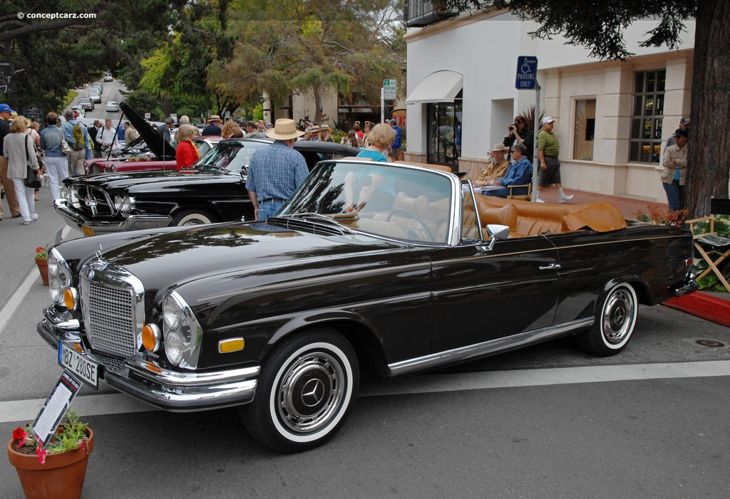 Auction results and data for 1970 mercedes benz 280 se for 1968 mercedes benz 280 se convertible