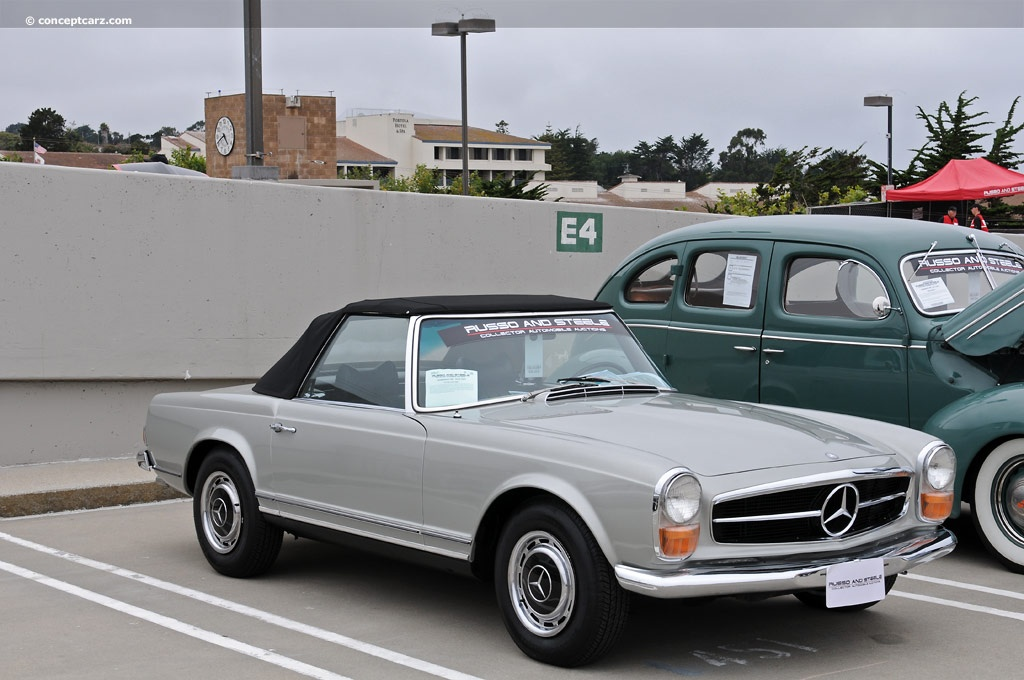 1970 mercedes benz 280sl pictures history value for Mercedes benz 70