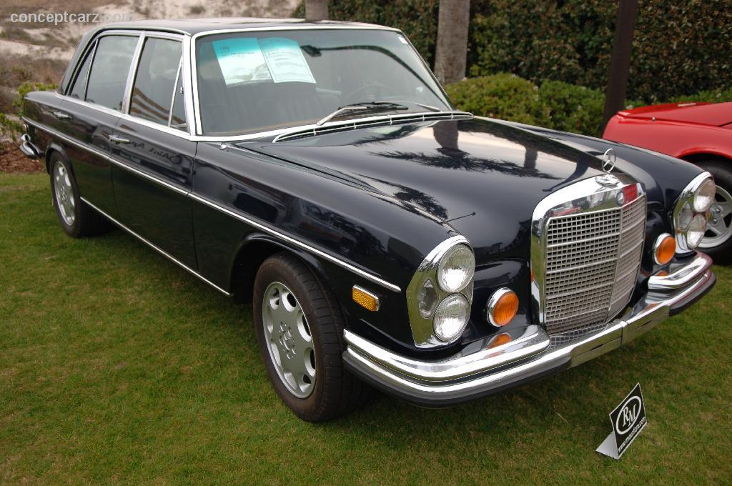 Auction results and data for 1971 mercedes benz 300 sel for Mercedes benz 6 3