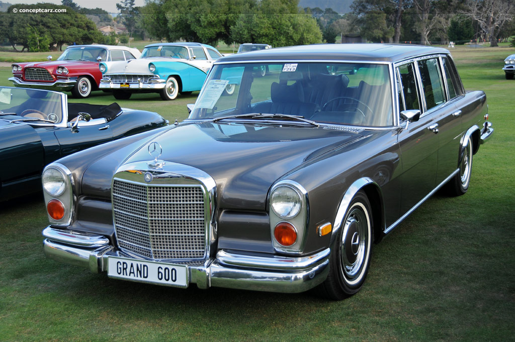 1972 mercedes benz 600 pullman conceptcarz for Mercedes benz limo